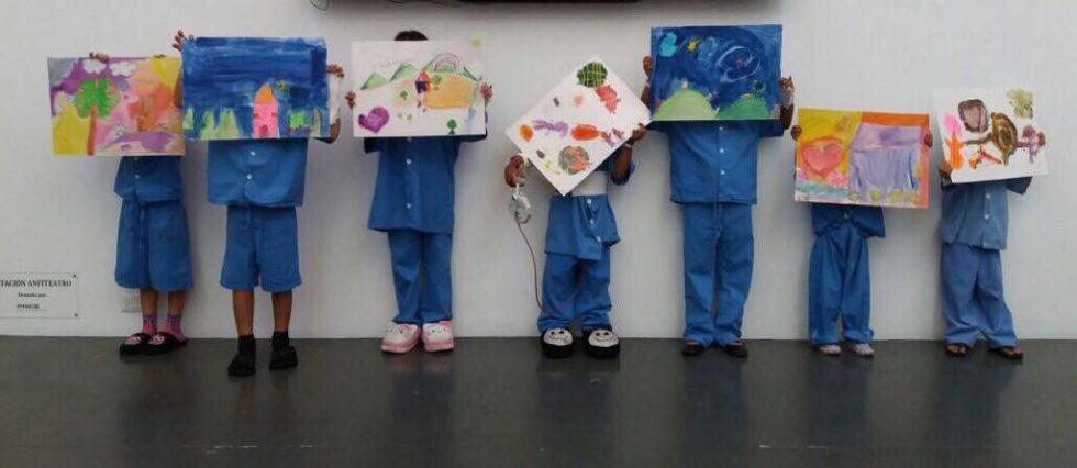 Mariangela Herrera: Los Niños Pintan Para los Niños. – Tica Moderna